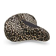 Townie Leopard Bike Saddle