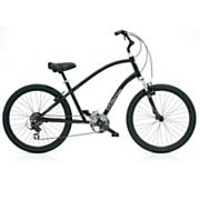 Townie Original 21D Men's-Black Satin Bike