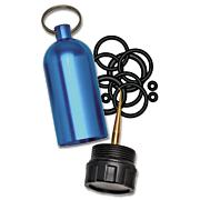 Scuba Tank Key Chain with O-Rings