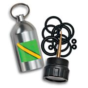 Scuba Tank Key Chain with Viton  O-Rings