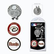Arizona Diamondbacks Golf Cap Clip & Ball Markers