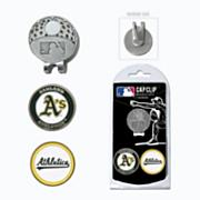 Oakland Athletics Golf Cap Clip & Ball Markers