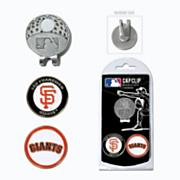 San Francisco Giants Golf Cap Clip & Ball Markers