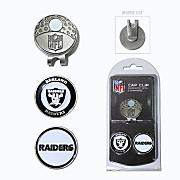 Oakland Raiders Golf Cap Clip & Ball Markers