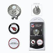 Arizona Cardinals Golf Cap Clip & Ball Markers