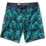 Men's Batix Boardshort - Gray Patterned