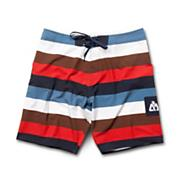 Men's Dominator Boardshort - White Patterned
