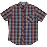 Men's Mingus S/S Woven Shirt - Purple Patterned