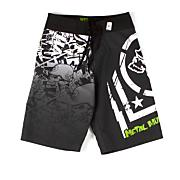 Boys' Hoist Boardshort - Black Patterned