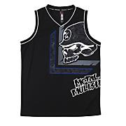 Men's Graduated Jersey Tank Top - Black