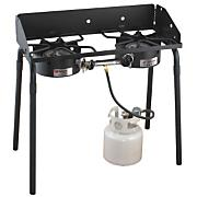 2 Burner 60,000 BTU Stove W/ Reversible Grill/Griddle