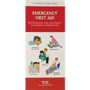 Emergency First Aid Pocket Naturalist® Guide