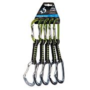 Photon Mixed Express Nylon Quickdraws - Five Pack