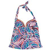 Women's Bali Beach Glam Halterkini Top - Pattern