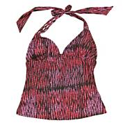 Women's Riviera Sun U-wire Halterkini Top - Pattern