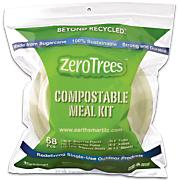 68-Piece Compostable Tableware Kit