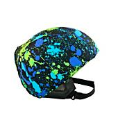 Helmet Cover, Blue/Green Splash