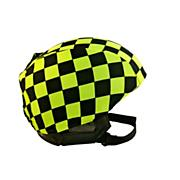 Helmet Cover - Green Checks