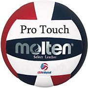 Pro Touch Volleyball - Red/White/Blue