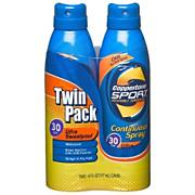 Sport Continuous Spray SPF 30 Sunscreen-Twin Pack