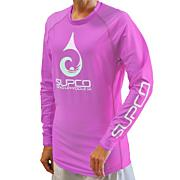 Women's Sweeper Long Sleeve T-Shirt - Pink