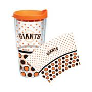 Giants Polka Dot 24 oz w/lid Tumbler