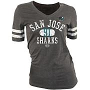 Women's Sharks Sierra Tee - Gray