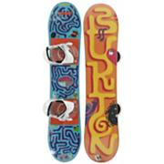 Kid's 2013 After School Special Snowboard Package 100 Blue