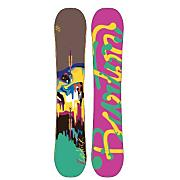 Women's 2013 Lip-Stick Snowboard 149 Green Yellow Brown
