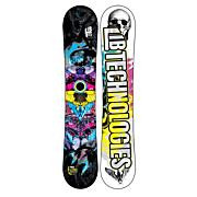 Men's 2013 TRS C2BTX Narrow Snowboard 151 Black Blue Yellow
