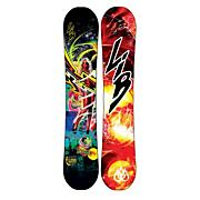 Men's 2013 T.Rice Pro C2BTX Snowboard 153 Black Yellow Blue Red
