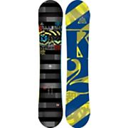Men's 2013 Lifelike Wide Snowboard 154 Black Gray