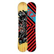 Men's 2013 Manic Wide Snowboard 154 Brown Black