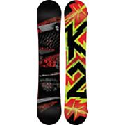 Men's 2013 Brigade Wide Snowboard 155 Black Gray Red