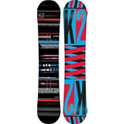Men's 2013 Playback Snowboard 155 Black Blue