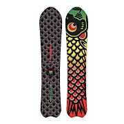 Men's 2013 Fish Snowboard 156 Black Rasta