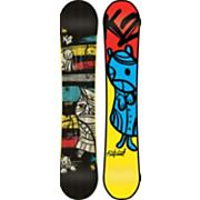 Men's 2013 Fastplant Wide Snowboard 156 Black Blue Yellow
