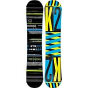 Men's 2013 Playback Wide Snowboard 156 Black Green Yellow