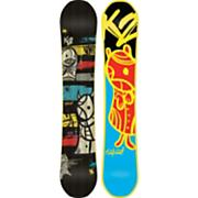 Men's 2013 Fastplant Snowboard 157 Black Blue Yellow