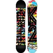 Men's 2013 Parkstar Snowboard 157 Black Red Blue