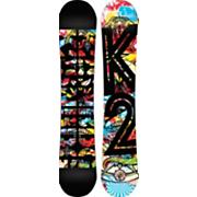 Men's 2013 Parkstar Wide Snowboard 157 Black Red Blue