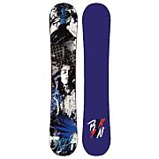 Men's 2013 Aftermath Snowboard 158 Black Blue