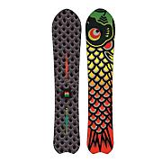 Men's 2013 Fish Snowboard 160 Black Rasta