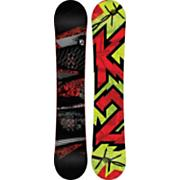 Men's 2013 Brigade Snowboard 161 Black Gray Red