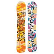 Men's 2013 Krypto Magtek Midwide Snowboard 164 Yellow