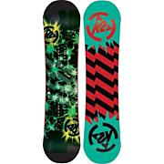 Kid's 2013 Mini Turbo Snowboard 90 Black Green