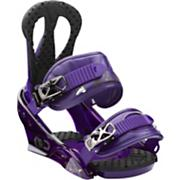 Women's 2013 Citizen Snowboard Bindings Purple