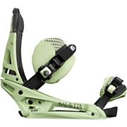 Men's 2013 Malavita EST Snowboard Bindings Lichen Green