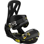 Kid's 2013 Mission Smalls Snowboard Bindings Small Black