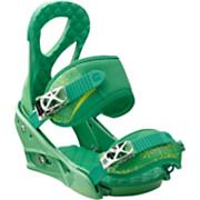 Women's 2013 Stiletto Snowboard Bindings Spring Green